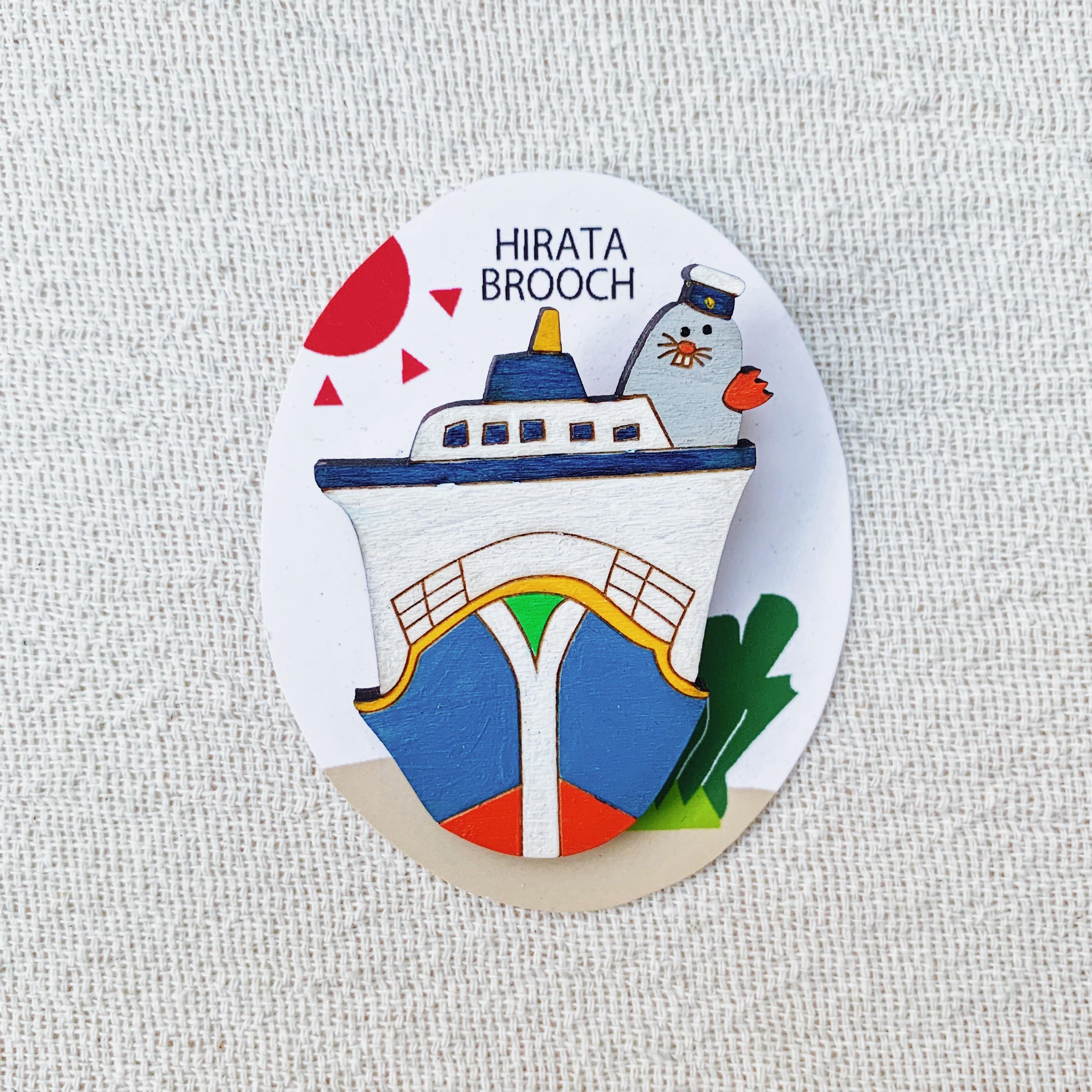 HIRATA BROOCH 2300